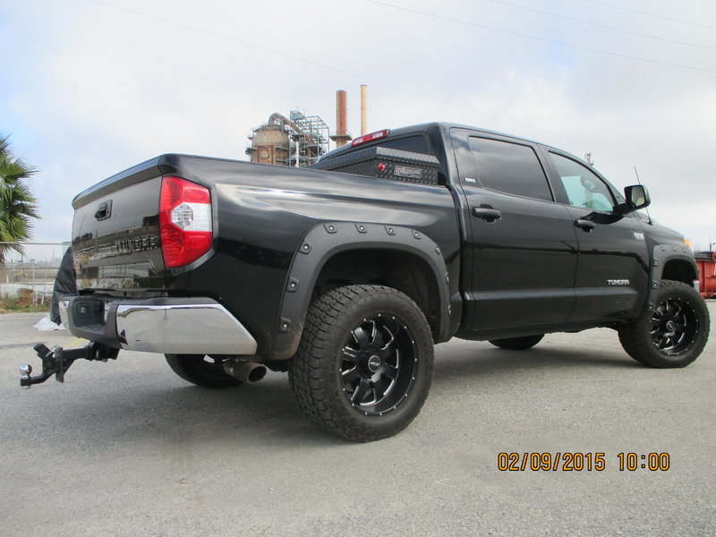 best black exhaust tip for 2015 tundra