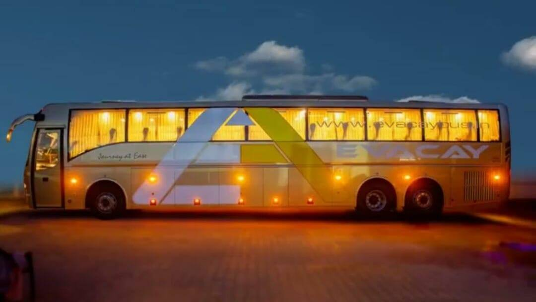 Evacay Volvo B11R Coimbatore Bangalore Day and Night Images 2