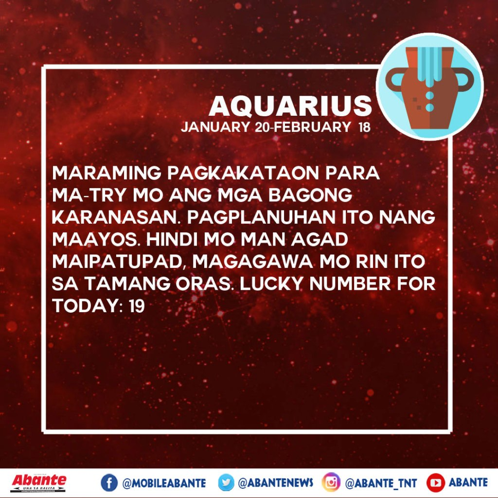 HOROSCOPE 03-24-2020