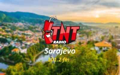 TNT RADIO SARAJEVO slušajte na frekvenciji 101.2 fm!