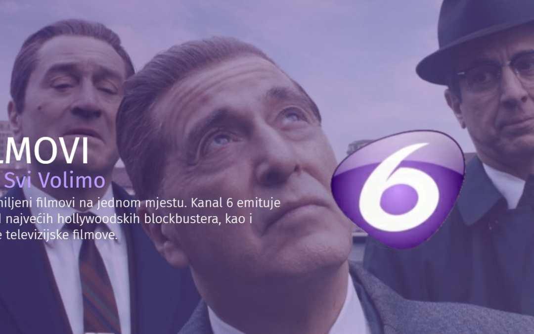 Kanal 6 novom web stranicom najavljuje novu programsku shemu