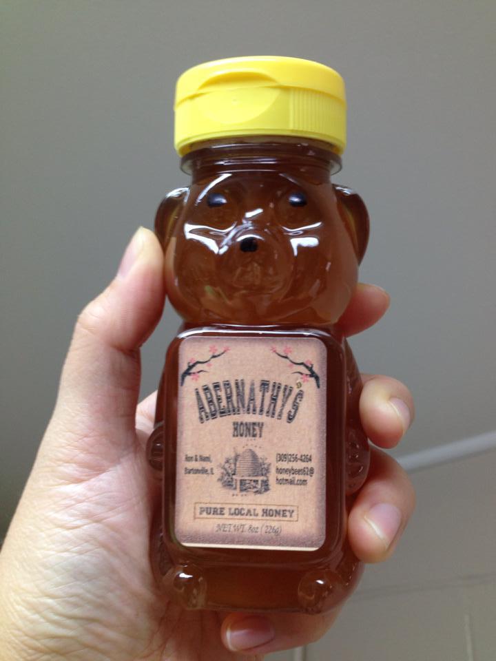Abernathy's Honey – 8 oz Bear