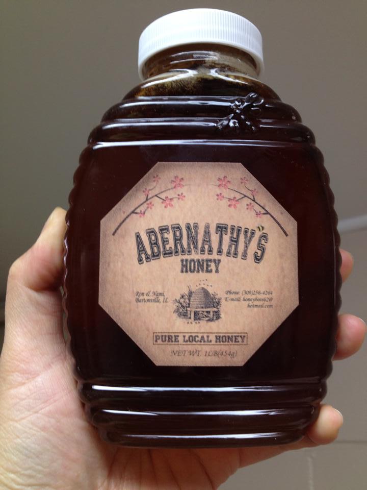 Abernathy's Honey – 1 lb Jar