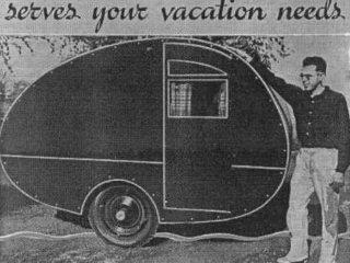 Vintage Teardrop Trailer Plans