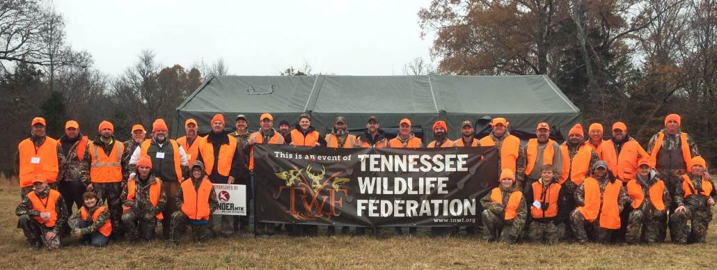 Nine youth hunters participated in the Federation's first-ever Youth Deer Hunt