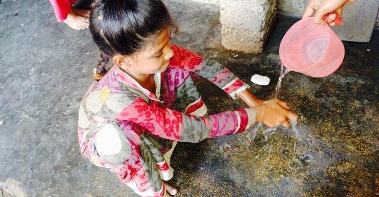 Handwashing with ZEST