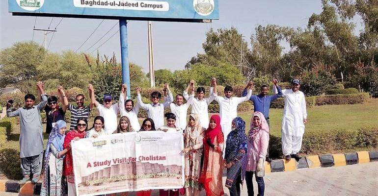 The NGO World hosted exposure visit of Students from Karachi University to Bahawalpur