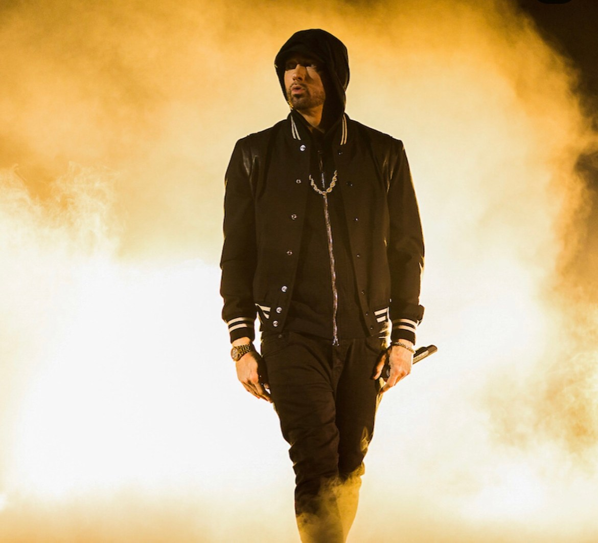 Eminem is tearing up the rap game track after track, collab after collab. 💯