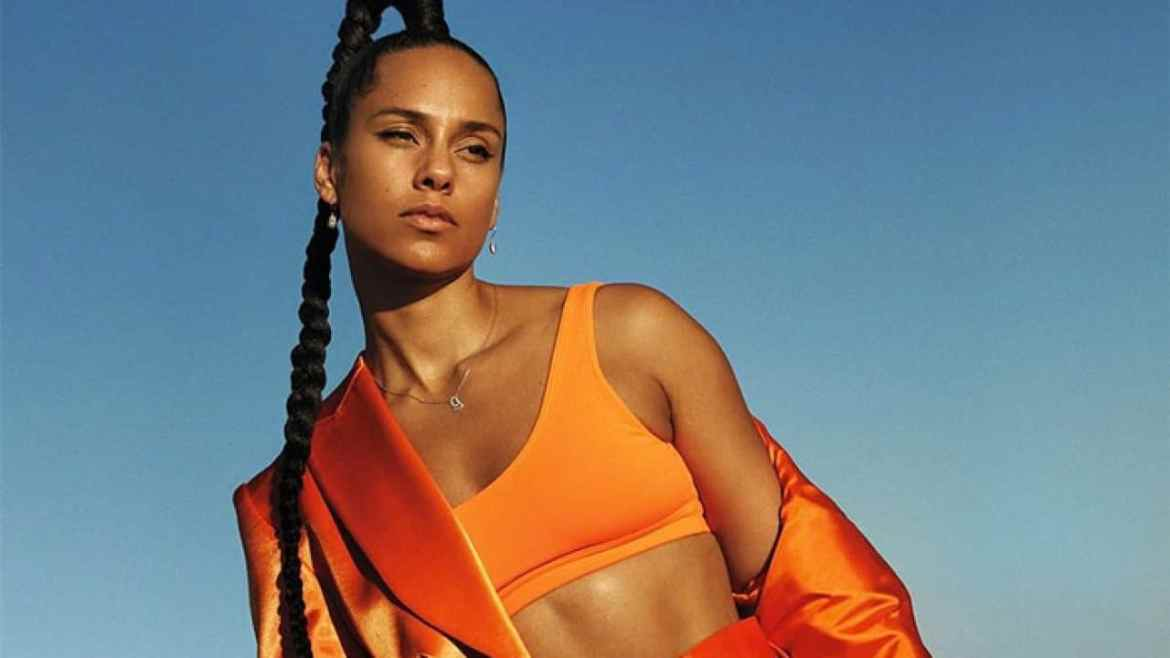 Alicia Keys' Guide to Wellness-Inspired Beauty by Vogue