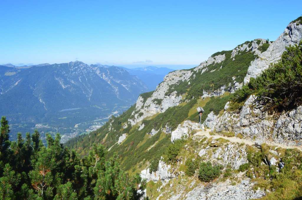 More ambitious hike from the Hochalm via Hupfleitnerjoch to the Osterfelderkopf