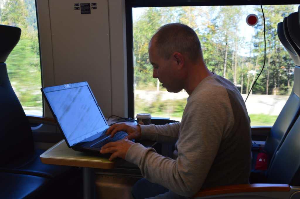 Thomas on his way back to Munich