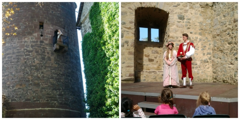 Trendelburg with Rapunzel and Sababurg the Castle of the Sleeping Beauty Germany toeurope to-europe.com