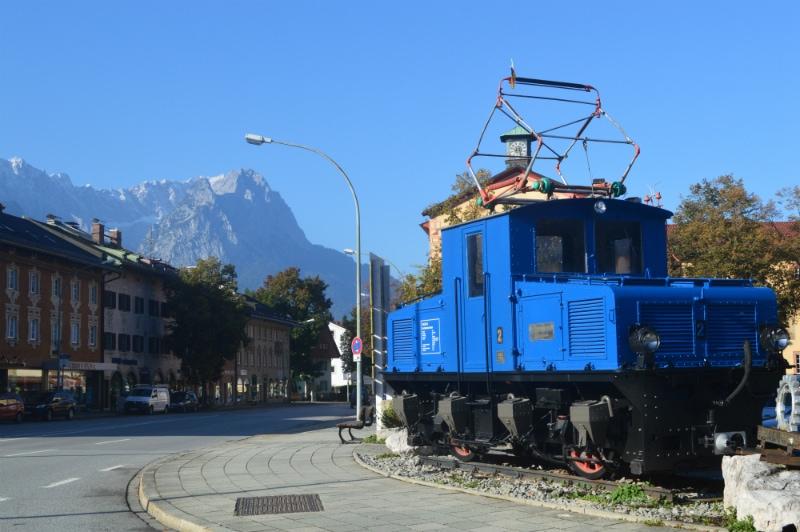 Historic Zugspitzbahn in Garmisch-Partenkirchen
