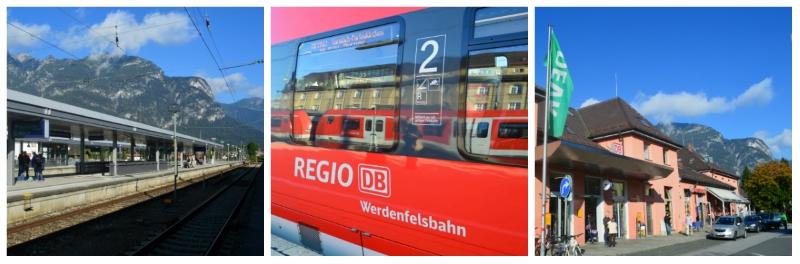 The Alps Zugspitz Daytrip by Rail, Werdenfels Rail from Munich to Garmisch-Partenkirchen