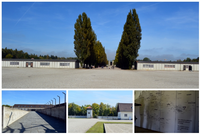 Dachau Memorial Site, Barracks at KZ Dachau Memorial Site