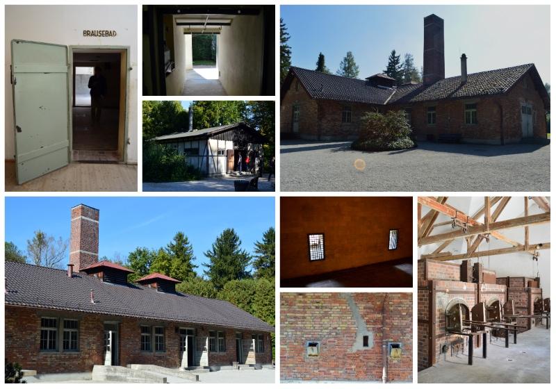 Dachau Memorial Site, Crematorium at Dachau Memorial site