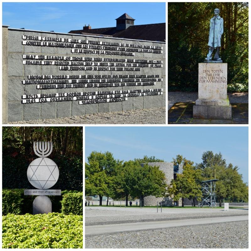 Dachau Memorial Site, Rememberance of the Dead