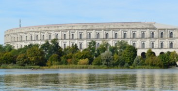 Congress Hall at Nazi Rally Grounds in Nuremberg/Germany