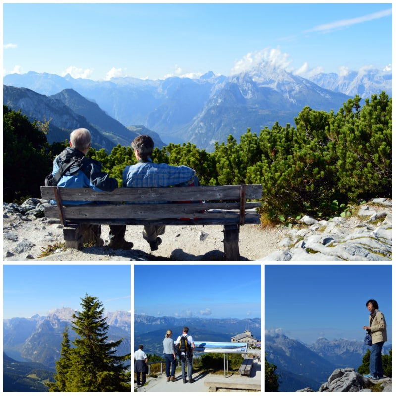 eagles nest daytrip, Small hiking trails on top of the Obersalzberg