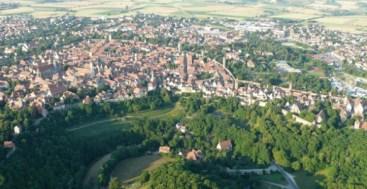 Rivera and Oldtown of Rothenburg ob der Tauber Germany to-europe.com