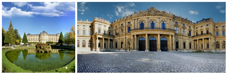 Romantic Fairy Tale Berlin Self-Drive Tour, Wurzburg Residence Germany to-europe.com
