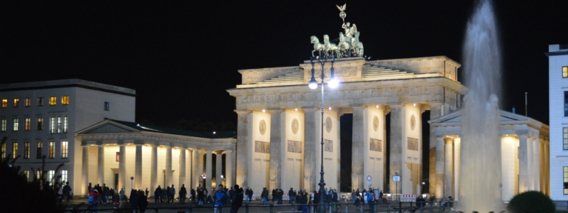 German Classics Rail Circle Tour, Brandenburg Gate Berlin Germany to-europe.com