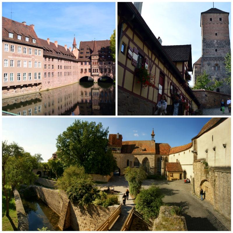 Prague Berlin Coach Rail Tour, Imperial Castle, Heilig Geist Spital Nuremberg and Rothenburg ob der Tauber Germany to-europe.com