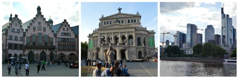 Luxury Central Europe Rail Circle Tour, Romer, Opera House, Skyline of Frankfurt Germany to-europe.com
