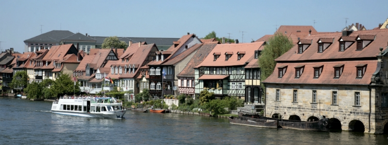 8 Day Bavaria Self-Drive Tour, Little Venice Bamberg Germany to-europe.com