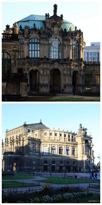Rhine River cruise, Zwinger and Semper Opera Dresden Germany to-europe.com