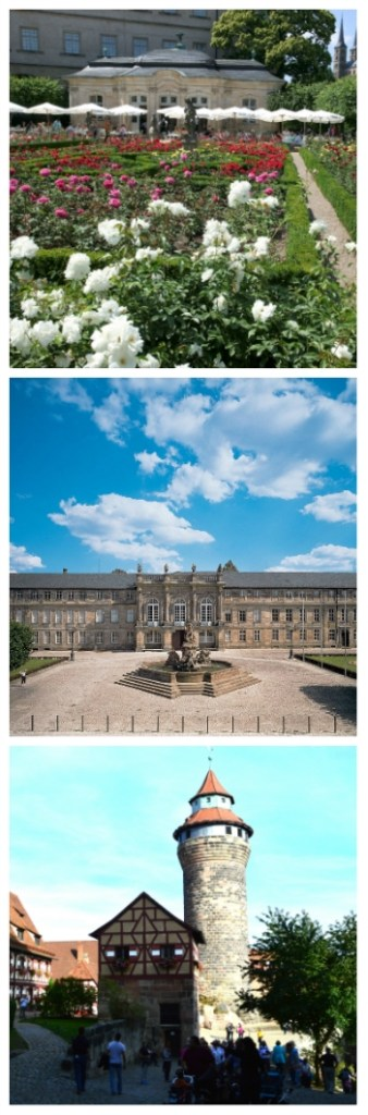 Rhine River cruise, Bamberg Residence and Rose Garden, New Palace Bayreuth, Imperial Castle Nuremberg Germany to-europe.com