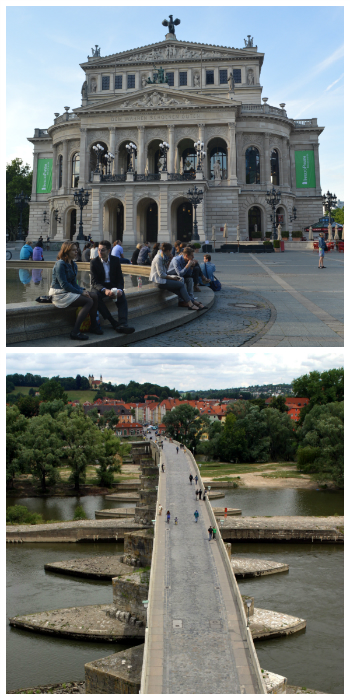 Blue Danube Rail Tour, Melk Cruise, Frankfurt Opera House and Regensburg Stone Bridge Germany to-europe.com