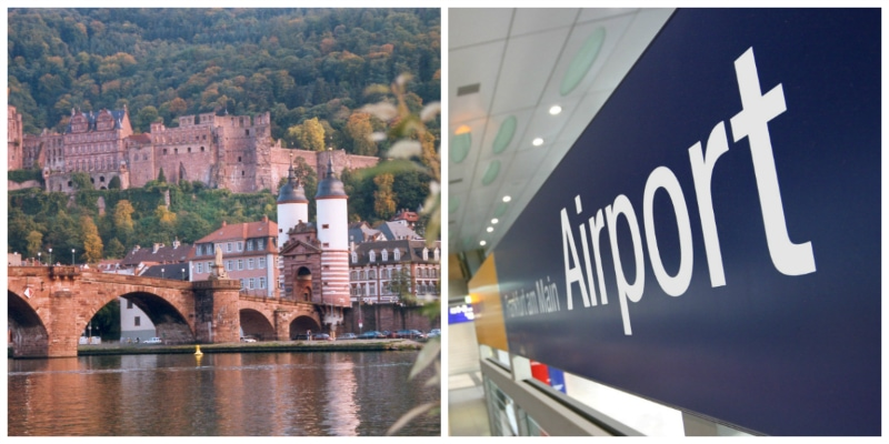 Bavaria Heidelberg Circle Car Tour, Heidelberg Castle and Frankfurt International Airport Germany to-europe.com