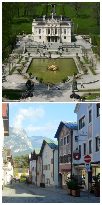 Bavaria Heidelberg Circle Car Tour, Linderhof Palace and Garmisch-Partenkirchen Bavaria Germany to-europe.com