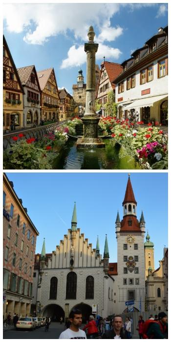 Bavaria Heidelberg Circle Car Tour, Rothenburg ob der Tauber and Munich Germany to-europe.com
