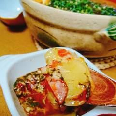 アカモクチーズトマト和風鍋