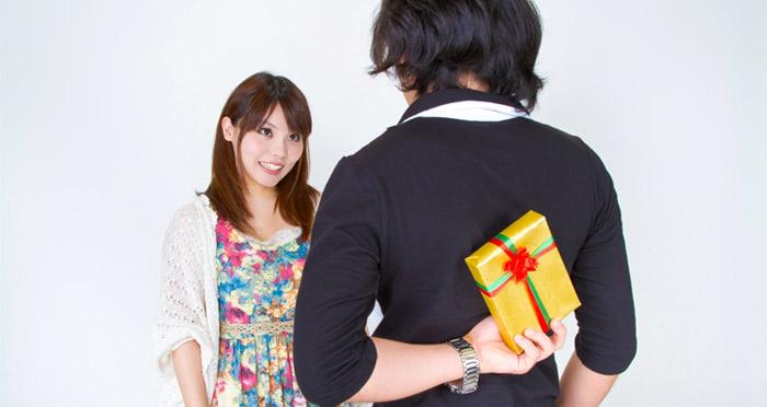 プロポーズにプレゼント