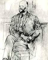 Пабло Пикассо,  «Портрет Амброаза Воллара», 1915