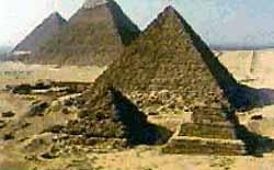 Пирамиды в Эль-Гизе