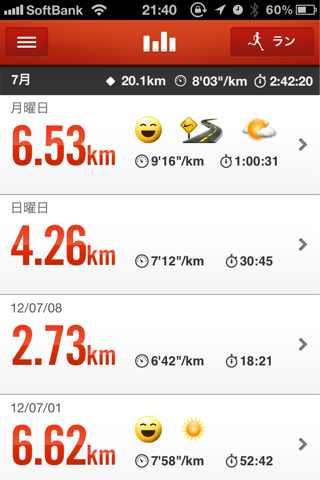 Running 6