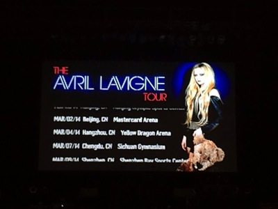 Avril in zepp osaka2