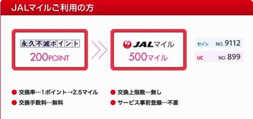 Net限定 ポイントアイテム ANA JAL マイル交換  永久不滅ポイント|クレディセゾンプレス