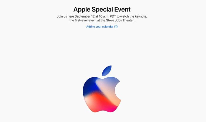 Apple Events Keynote September 2017 Apple