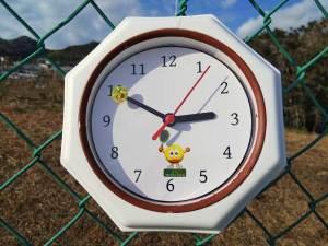 クラブ公式!?時計