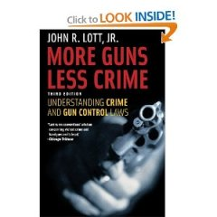 20131220 John Lott More Guns Less Crime Book Cover