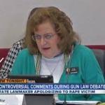 Evie Hudak at hearing, March 4, 2013