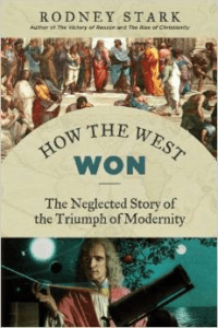 Book Cover Rodney Stark How the West Won