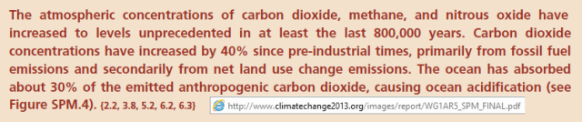 IPCC lots of carbon
