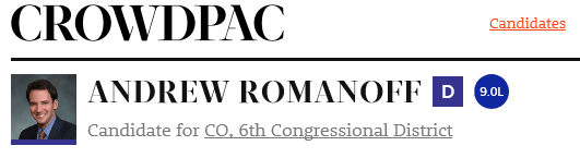 Romanoff Crowd Pac rating