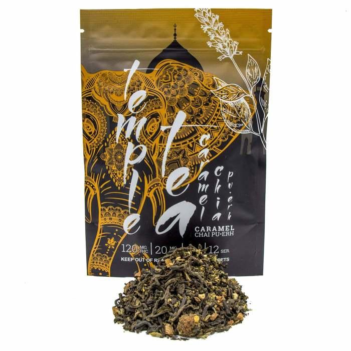 Temple Tea Caramel Chai Pu Erh scaled 1 Toastedexotics